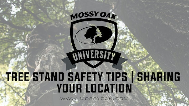 Tree Stand Safety Tips • Sharing Your Location