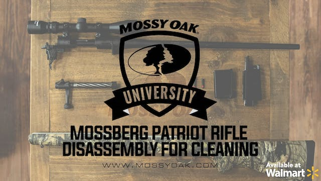 Mossberg Patriot Rifle: How to Clean ...
