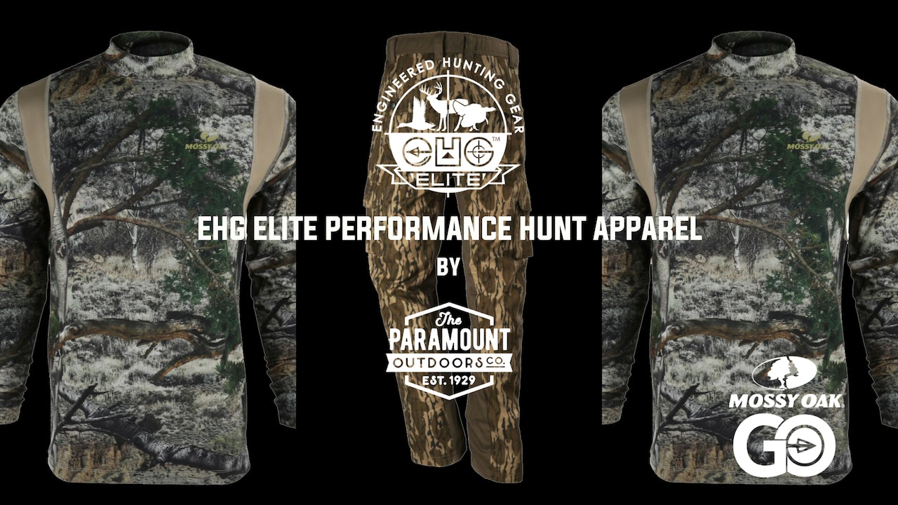 EHG Elite Performance Hunt Apparel by Paramount Outdoors