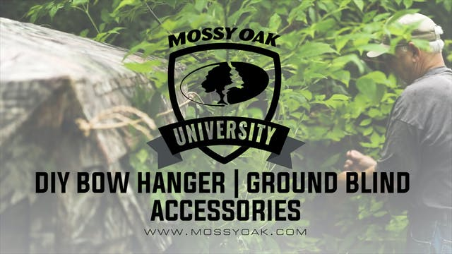 DIY Bow Hanger • Ground Blind Accesso...