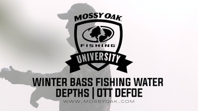 What Depth to Catch Bass in the Winter - Ott DeFoe Fishing Tips