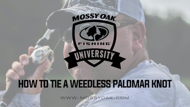 How to Tie a Weedless Palomar Knot