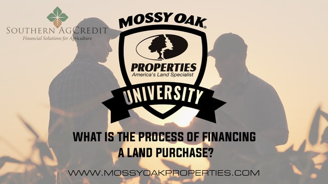 What Is The Process Of Financing A Land Purchase?