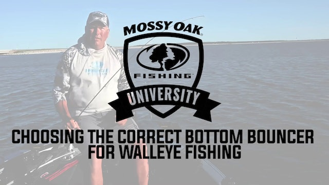 Choosing the Correct Bottom Bouncer for Walleye Fishing