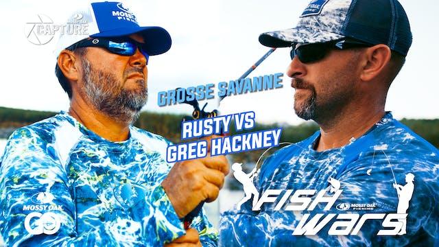 Fish Wars •  Grosse Savanne: Rusty vs...