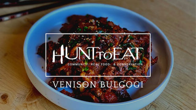 Spicy Venison Bulgogi • Hunt to Eat