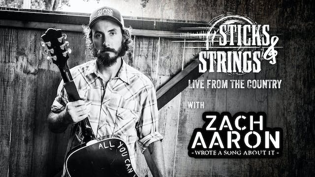 Zach Aaron • Sticks & Strings: Live f...
