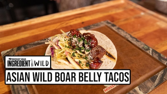 Sticky Asian Wild Boar Belly Tacos with the BBQ Ninja • Ingredient Wild