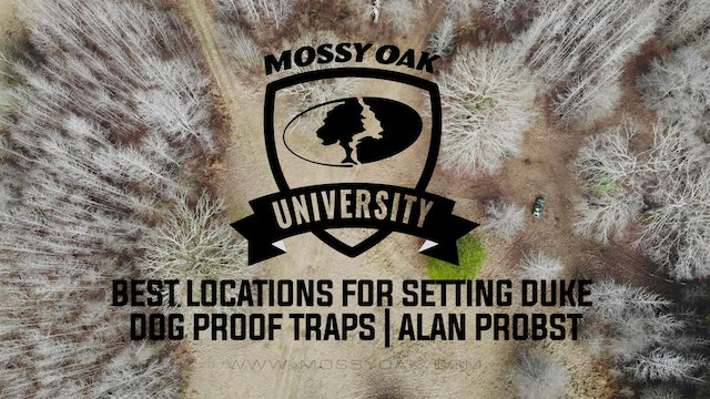 Best Locations for Setting Duke Dog Proof Traps with Alan Probst