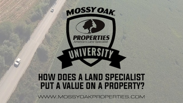 How Does A Land Specialist Put A Value On A Property?