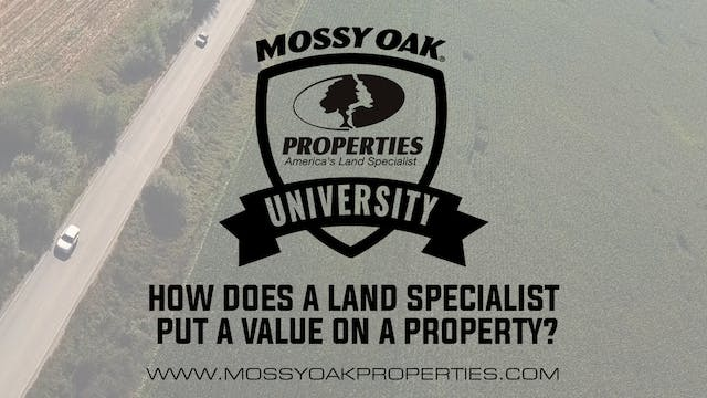 How Does A Land Specialist Put A Valu...