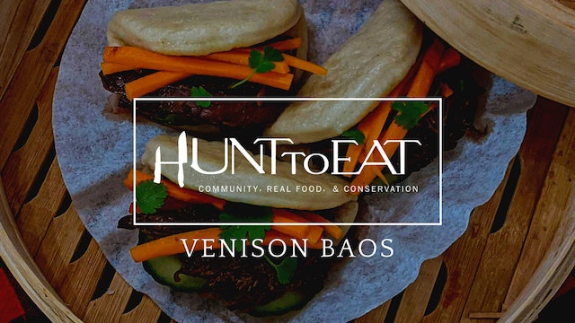 Venison Bao • Hunt to Eat