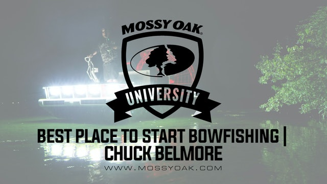 Best Place to Start Bowfishing • Mossy Oak University