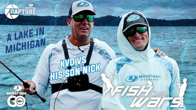 Fish Wars • Kevin VanDam vs His Son Nick