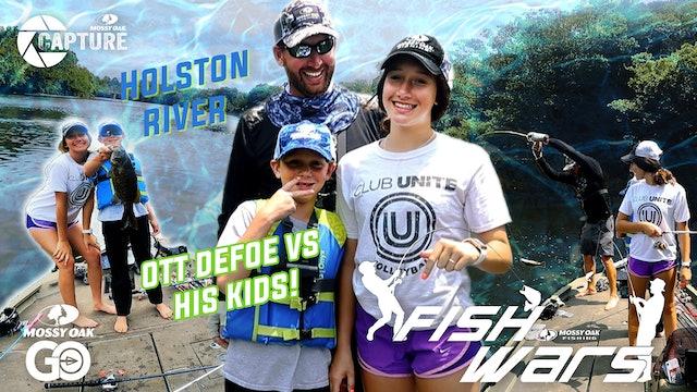 Fish Wars • Ott DeFoe vs His Kids!
