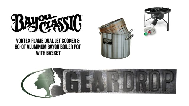 Bayou Classic Cooker and Boiler Pot •...