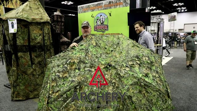 Big Tom Hunting Blind by Cooper Hunti...