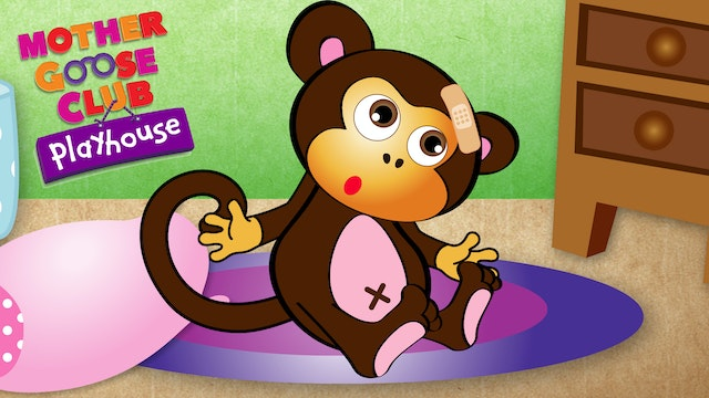 Mother Goose Club Playhouse - Five Little Monkeys