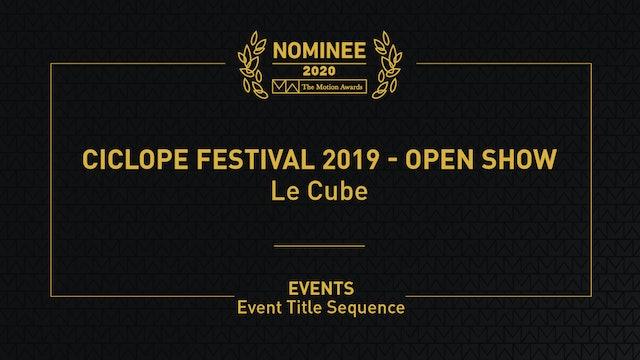Ciclope Festival 2019 - Open Show