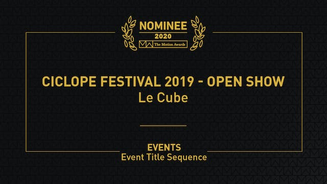 Ciclope Festival 2019 - Open Show