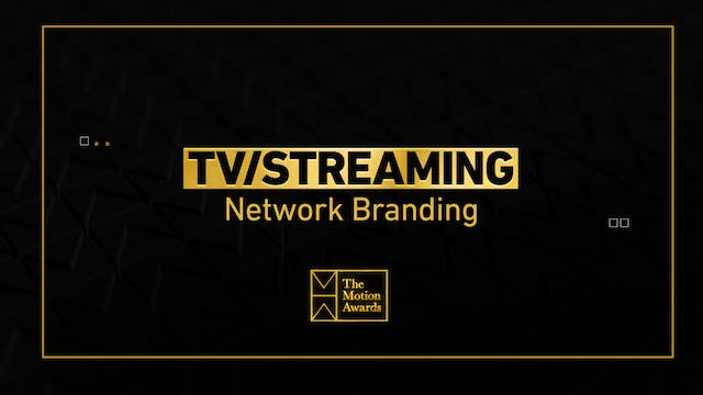 TV / Streaming | Network Branding