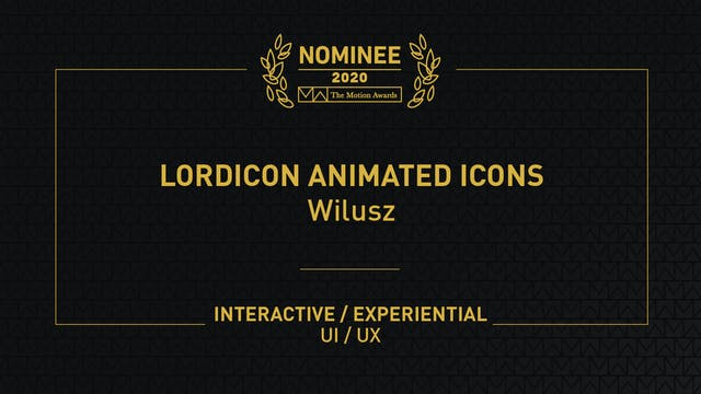 Lordicon Animated Icons