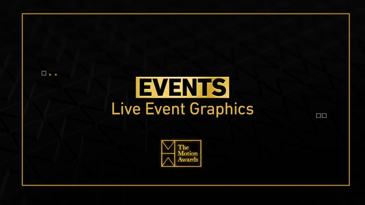 Events | Live Event Graphics