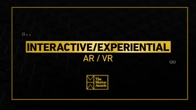Interactive / Experiential | AR / VR