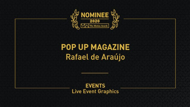Pop Up Magazine