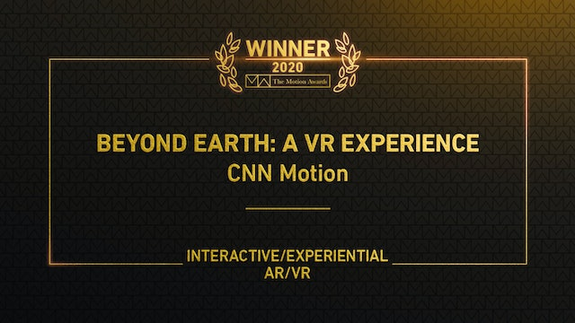 Beyond Earth: A VR Experience