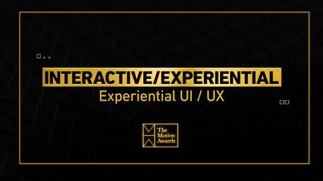 Interactive / Experiential | UI / UX