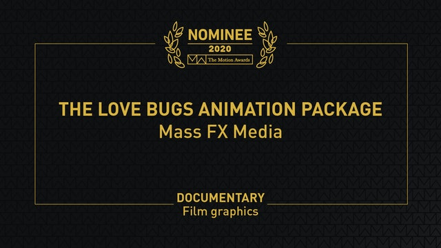 The Love Bugs Animation Package
