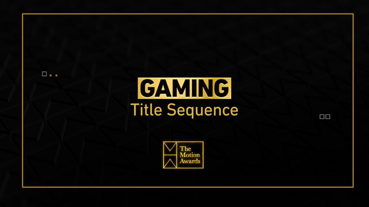 Gaming | Game Title Sequence