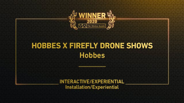 Hobbes x Firefly Drone Shows