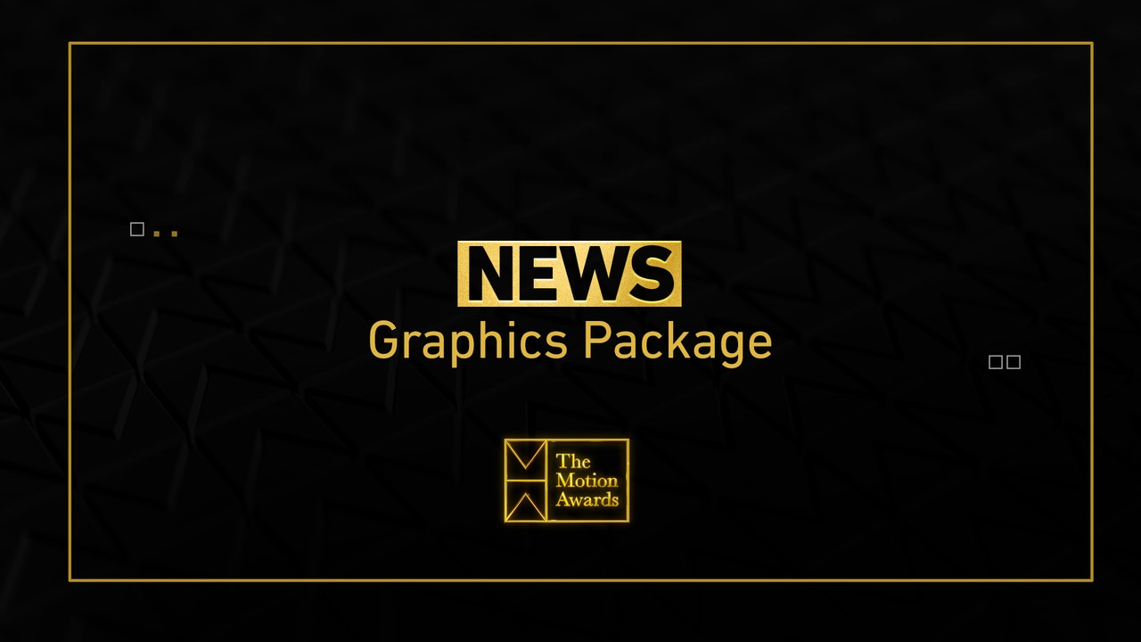 News | News Graphics Package