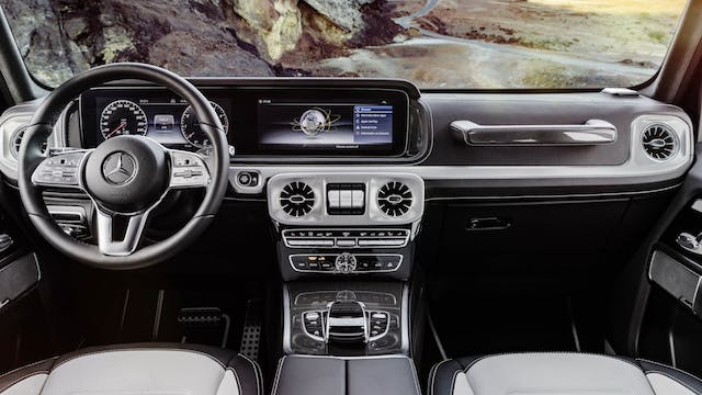 All-new Mercedes G-Class Interior