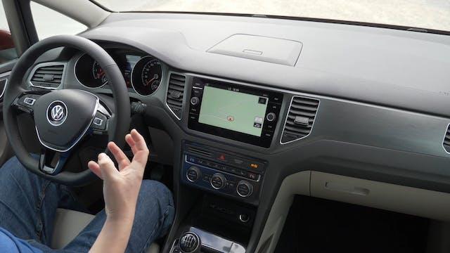 VW Golf Sportsvan SV Facelift