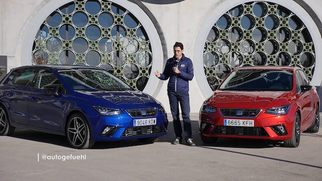 Seat Ibiza FR TDI manual vs DSG 2018