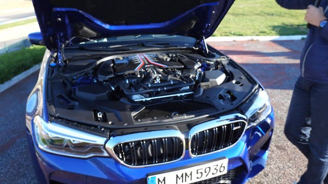 BMW M5 - the German muscle car?