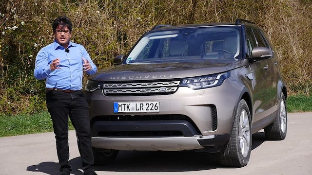 The New 2017 Land Rover Discovery