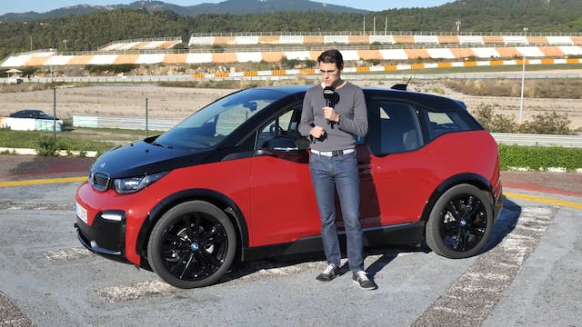 BMW i3s FULL REVIEW new sports EV 201...