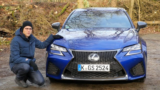 Lexus GS F V8 FULL REVIEW test driven...
