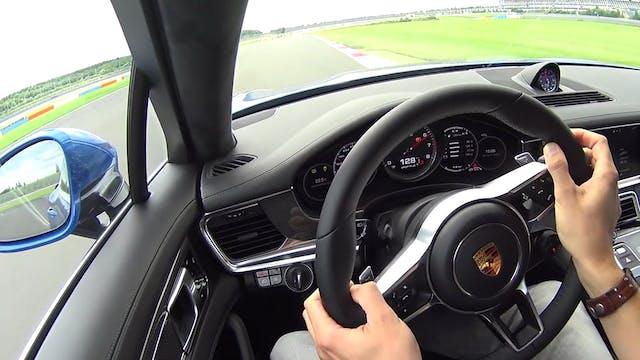 2017 Porsche Panamera Racetrack Drivi...