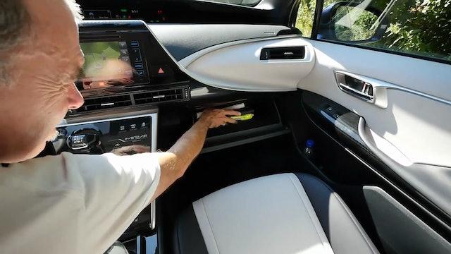 2016 Toyota Mirai Hydrogen Fuel-Cell Car