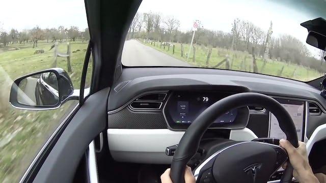 2017 Tesla Model X SUV p90D Model