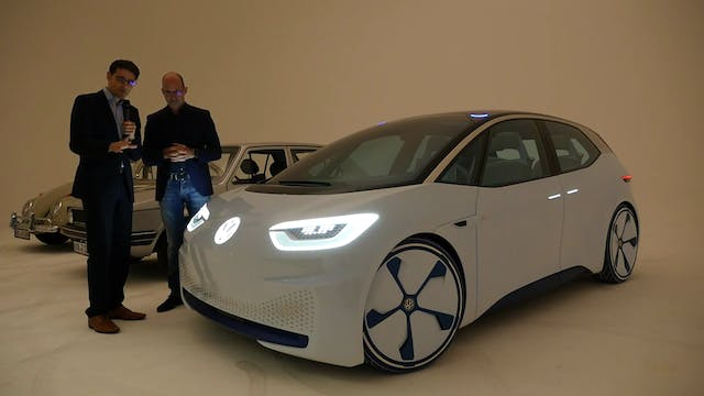 "New VW I.D Concept Car ""The People's ..."