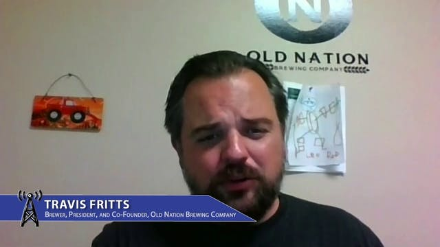 Old Nation Brewery's Travis Fittz