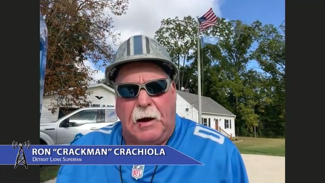 """Ron """"Crackman"""" Crachiola - Lions Superfan"""