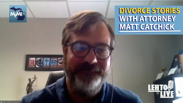 Talking Divorce Stories with Attorney...