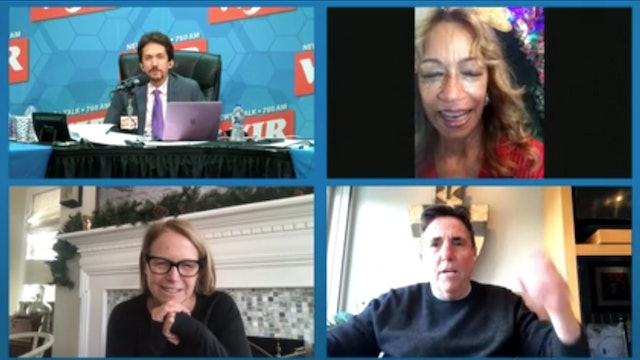 Bernie Carmen and Katie with Mitch Albom